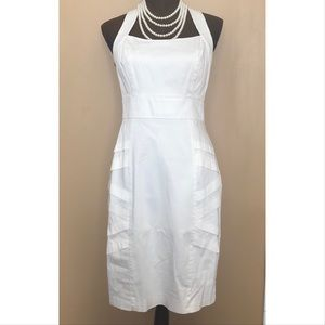 White Calvin Klein Cocktail Dress